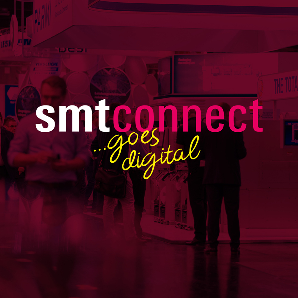 SMTconnect goes digital 2020: exciting program with extensive networking options