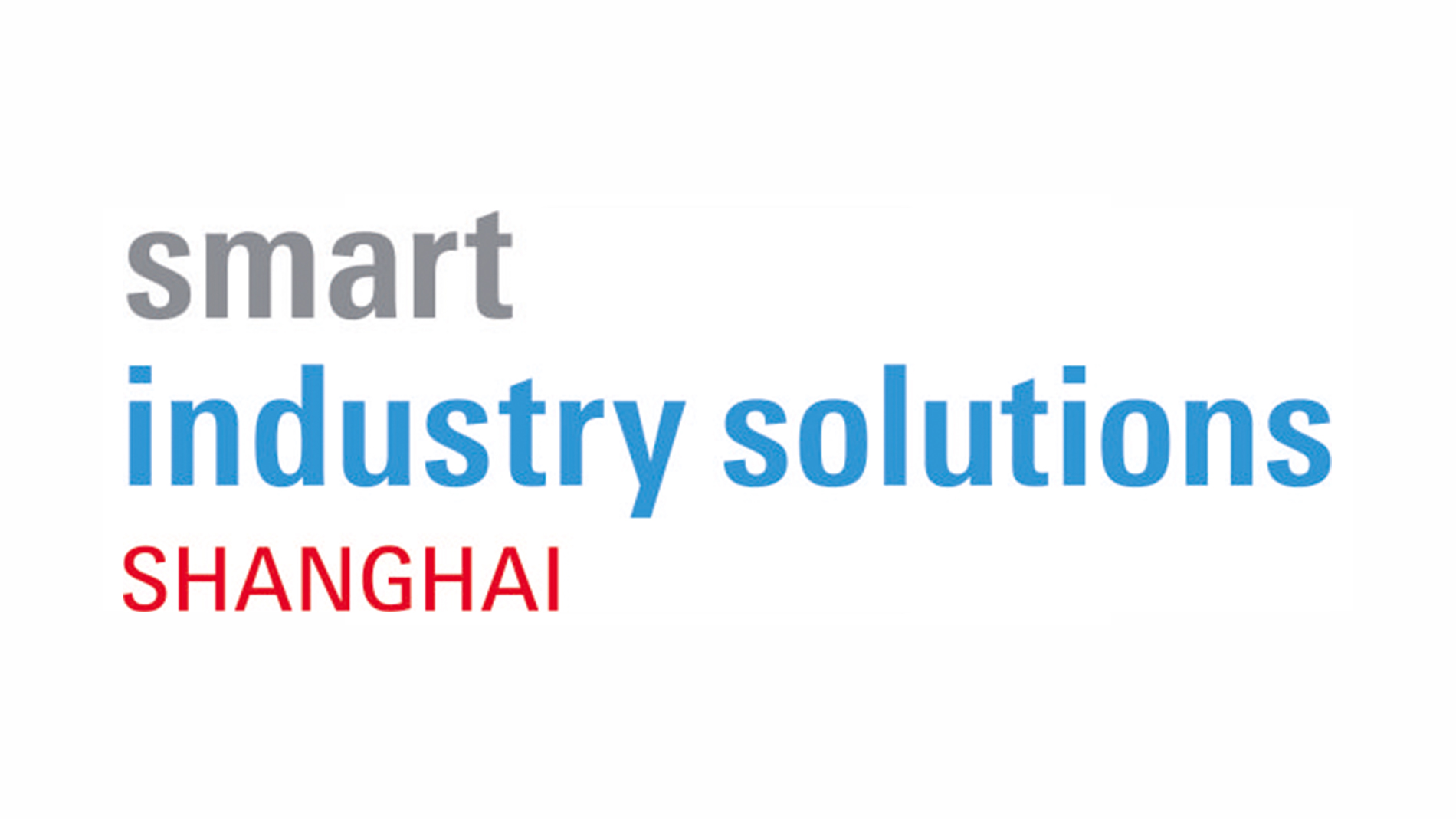 Smart Industry Solutions Shanghai
